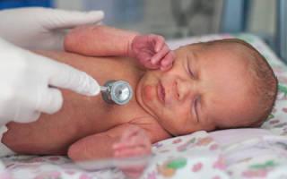 Частота дыхания у новорожденного в минуту